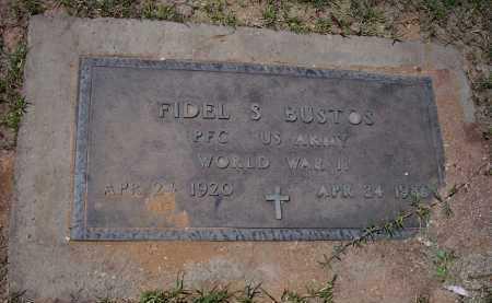 BUSTOS, FIDEL S. - Pinal County, Arizona   FIDEL S. BUSTOS - Arizona Gravestone Photos