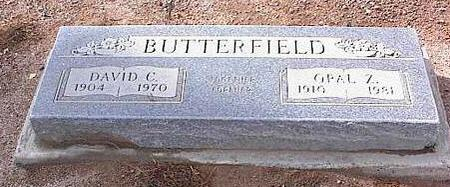 BUTTERFIELD, OPAL Z. - Pinal County, Arizona | OPAL Z. BUTTERFIELD - Arizona Gravestone Photos