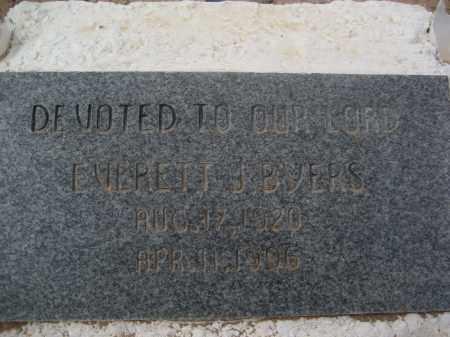 BYERS, EVERETT J. - Pinal County, Arizona | EVERETT J. BYERS - Arizona Gravestone Photos