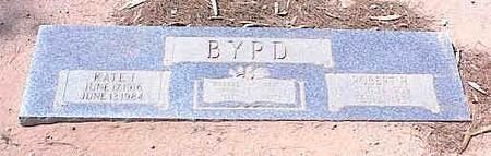BYRD, ROBERT H. - Pinal County, Arizona | ROBERT H. BYRD - Arizona Gravestone Photos