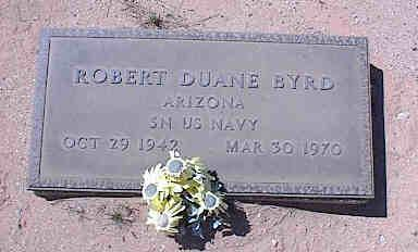BYRD, ROBERT DUANE - Pinal County, Arizona | ROBERT DUANE BYRD - Arizona Gravestone Photos