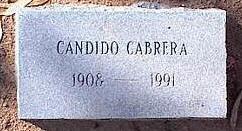 CABARA, CANDIDO - Pinal County, Arizona | CANDIDO CABARA - Arizona Gravestone Photos