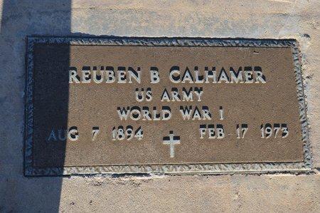 CALHAMER, REUBEN B - Pinal County, Arizona   REUBEN B CALHAMER - Arizona Gravestone Photos
