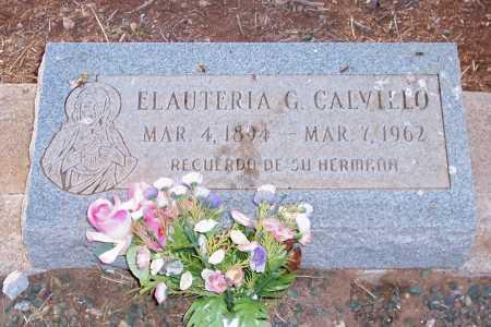 CALVILLO, ELAUTERIA G. - Pinal County, Arizona | ELAUTERIA G. CALVILLO - Arizona Gravestone Photos