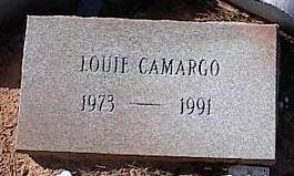 CAMARGO, LOUIE - Pinal County, Arizona | LOUIE CAMARGO - Arizona Gravestone Photos