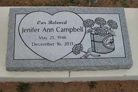 CAMPBELL, JENIFER A. - Pinal County, Arizona | JENIFER A. CAMPBELL - Arizona Gravestone Photos