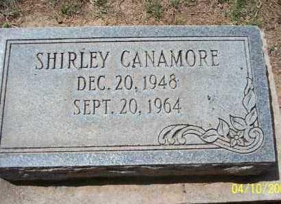 CANAMORE, SHIRLEY - Pinal County, Arizona | SHIRLEY CANAMORE - Arizona Gravestone Photos