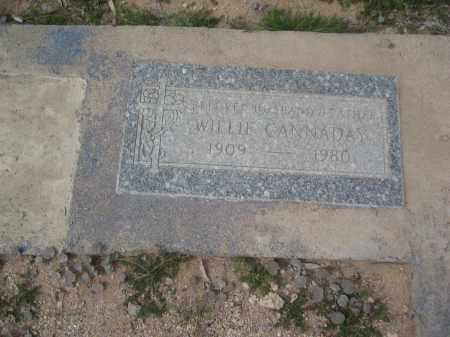 CANNADAY, WILLIE - Pinal County, Arizona   WILLIE CANNADAY - Arizona Gravestone Photos