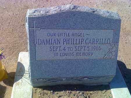 CARILLO, DAMIAN PHILLIP - Pinal County, Arizona   DAMIAN PHILLIP CARILLO - Arizona Gravestone Photos