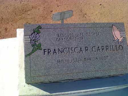 CARILLO, FRANCISCA R - Pinal County, Arizona | FRANCISCA R CARILLO - Arizona Gravestone Photos