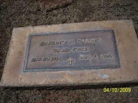 CARINO, EPHEINO H. - Pinal County, Arizona   EPHEINO H. CARINO - Arizona Gravestone Photos