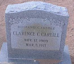 CARLILE, CLARENCE C. - Pinal County, Arizona | CLARENCE C. CARLILE - Arizona Gravestone Photos