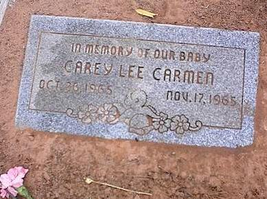 CARMEN, CAREY LEE - Pinal County, Arizona | CAREY LEE CARMEN - Arizona Gravestone Photos