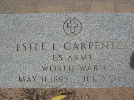 CARPENTER, ESTLE L. - Pinal County, Arizona | ESTLE L. CARPENTER - Arizona Gravestone Photos