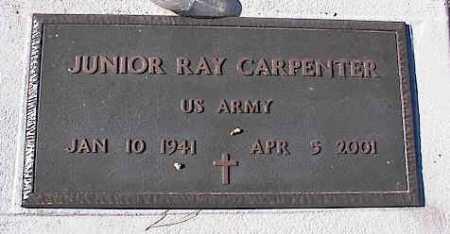 CARPENTER, JUNIOR RAY - Pinal County, Arizona   JUNIOR RAY CARPENTER - Arizona Gravestone Photos