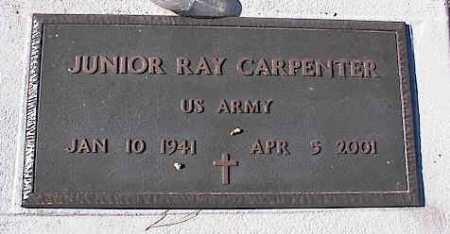 CARPENTER, JUNIOR RAY - Pinal County, Arizona | JUNIOR RAY CARPENTER - Arizona Gravestone Photos