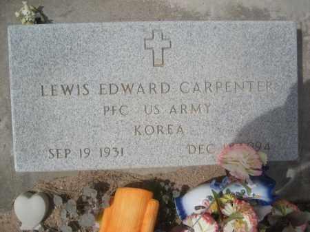 CARPENTER, LEWIS EDWARD - Pinal County, Arizona | LEWIS EDWARD CARPENTER - Arizona Gravestone Photos