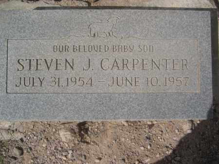 CARPENTER, STEVEN J. - Pinal County, Arizona   STEVEN J. CARPENTER - Arizona Gravestone Photos