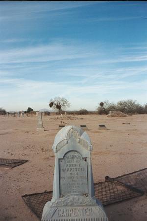 CARPENTER, VIEW - Pinal County, Arizona | VIEW CARPENTER - Arizona Gravestone Photos