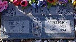 CARRA, FIDENCIO - Pinal County, Arizona | FIDENCIO CARRA - Arizona Gravestone Photos