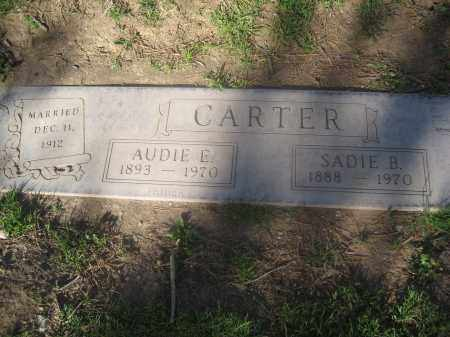 CARTER, AUDIE E. - Pinal County, Arizona | AUDIE E. CARTER - Arizona Gravestone Photos