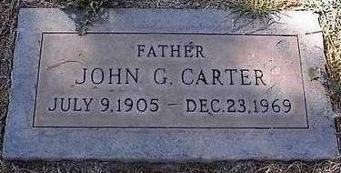 CARTER, JOHN G. - Pinal County, Arizona | JOHN G. CARTER - Arizona Gravestone Photos