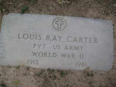 CARTER, LOUIS RAY - Pinal County, Arizona | LOUIS RAY CARTER - Arizona Gravestone Photos