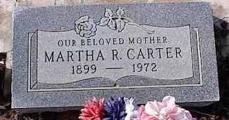 CARTER, MARTHA R. - Pinal County, Arizona | MARTHA R. CARTER - Arizona Gravestone Photos