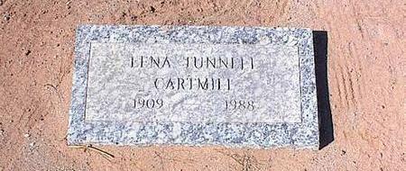 CARTMILL, LENA TUNNELL - Pinal County, Arizona | LENA TUNNELL CARTMILL - Arizona Gravestone Photos