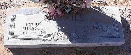 CARWILE, EUNICE B. - Pinal County, Arizona | EUNICE B. CARWILE - Arizona Gravestone Photos