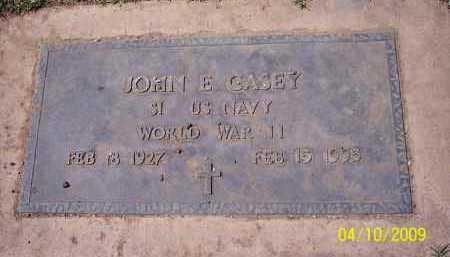 CASEY, JOHN E. - Pinal County, Arizona | JOHN E. CASEY - Arizona Gravestone Photos