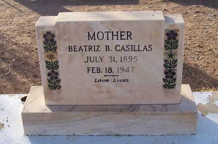 BOJORQUEZ CASILLAS, BEATRIZ B. - Pinal County, Arizona   BEATRIZ B. BOJORQUEZ CASILLAS - Arizona Gravestone Photos