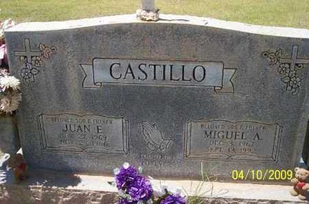 CASTILLO, JUAN E. - Pinal County, Arizona | JUAN E. CASTILLO - Arizona Gravestone Photos