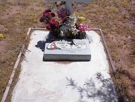 CASTILLO, PEDRO - Pinal County, Arizona | PEDRO CASTILLO - Arizona Gravestone Photos