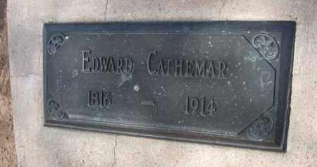 CATHEMAR, EDWARD - Pinal County, Arizona   EDWARD CATHEMAR - Arizona Gravestone Photos