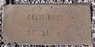 CELIS, BOYS - Pinal County, Arizona | BOYS CELIS - Arizona Gravestone Photos