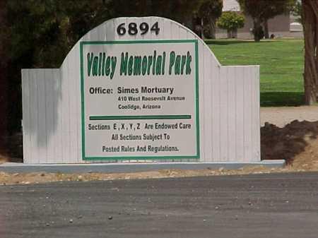 CEMETERY, VALLEY MEMORIAL PARK - Pinal County, Arizona | VALLEY MEMORIAL PARK CEMETERY - Arizona Gravestone Photos