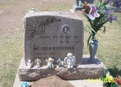 CEVEDIA, MELISSA R. - Pinal County, Arizona | MELISSA R. CEVEDIA - Arizona Gravestone Photos