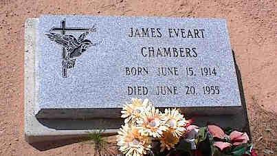 CHAMBERS, JAMES EVEART - Pinal County, Arizona | JAMES EVEART CHAMBERS - Arizona Gravestone Photos