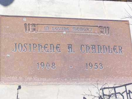 CHANDLER, JOSIPHENE A - Pinal County, Arizona   JOSIPHENE A CHANDLER - Arizona Gravestone Photos