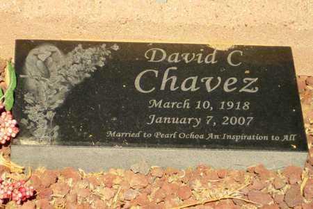 CHAVEZ, DAVID C. - Pinal County, Arizona | DAVID C. CHAVEZ - Arizona Gravestone Photos