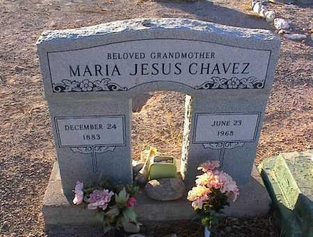 CHAVEZ, MARIA JESUS - Pinal County, Arizona   MARIA JESUS CHAVEZ - Arizona Gravestone Photos