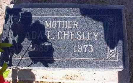 CHESLEY, ADA L. - Pinal County, Arizona | ADA L. CHESLEY - Arizona Gravestone Photos