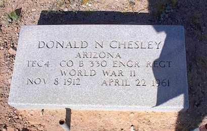 CHESLEY VET WWII, DONALD N. - Pinal County, Arizona | DONALD N. CHESLEY VET WWII - Arizona Gravestone Photos