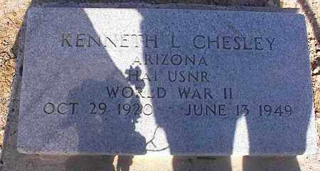CHESLEY VET WWII, KENNETH L. - Pinal County, Arizona | KENNETH L. CHESLEY VET WWII - Arizona Gravestone Photos
