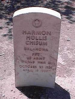 CHISUM, HARMON HOLLIS - Pinal County, Arizona | HARMON HOLLIS CHISUM - Arizona Gravestone Photos