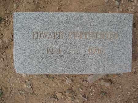 CHRISTENSEN, EDWARD - Pinal County, Arizona | EDWARD CHRISTENSEN - Arizona Gravestone Photos