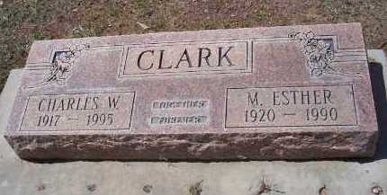 CLARK, M. ESTHER - Pinal County, Arizona | M. ESTHER CLARK - Arizona Gravestone Photos