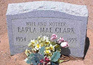 CLARK, EARLA MAE - Pinal County, Arizona | EARLA MAE CLARK - Arizona Gravestone Photos