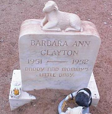CLAYTON, BARBARA ANN - Pinal County, Arizona | BARBARA ANN CLAYTON - Arizona Gravestone Photos